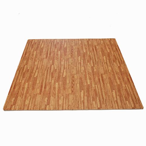 Free post tiles wood grain yoga gym fitness interlocking
